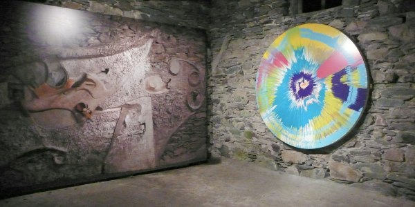 The Spin Painting in the Merz Barn