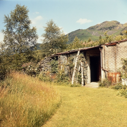 The Merz Barn circa 1953. Photo Sprengel Museum Archive