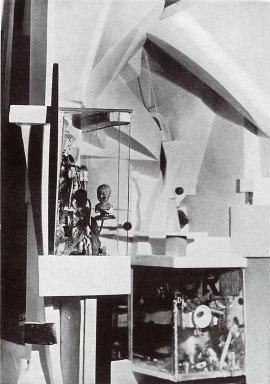 Kurt Schwitters: Gold Grotto, 1925