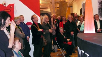 Opening of the Merzdorf Exhibition