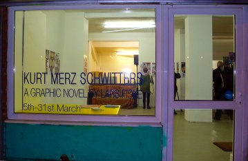 MadLab: hosted an exhibition of Lars Fiske's graphic novel: 'Kurt Merz Schwitters'.