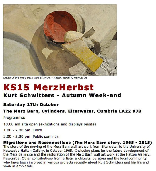 Flyer for the KS15 Autumn School