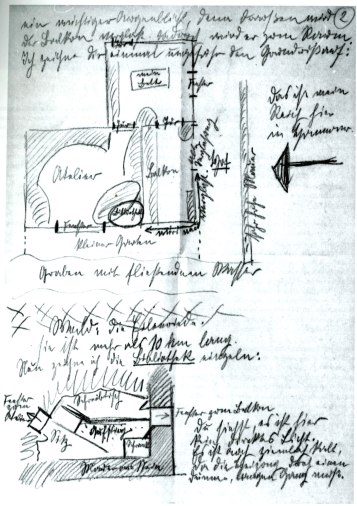 KS sketch Merzbau