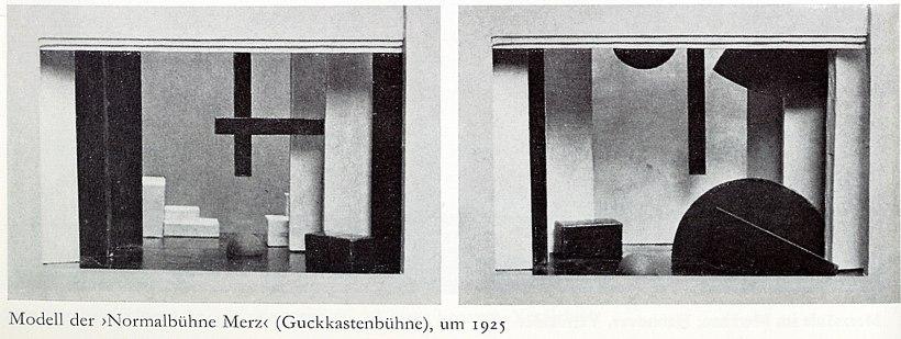 Guckkastenbühne-model
