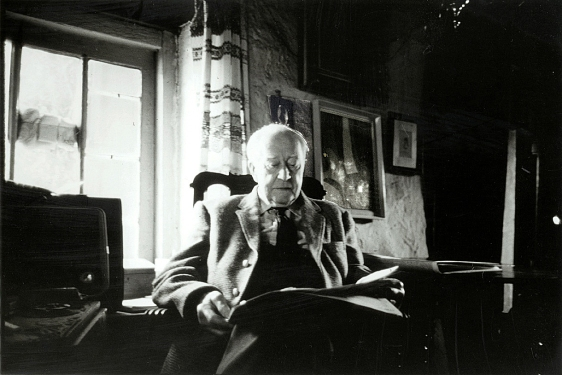 Harry Pierce in Ivy Cottage, c. 1952. Photo courtesy of William Pierce.