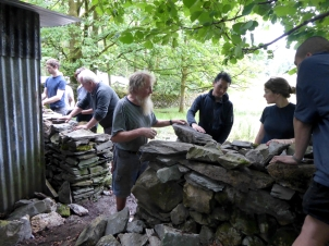 Drystone walling for web