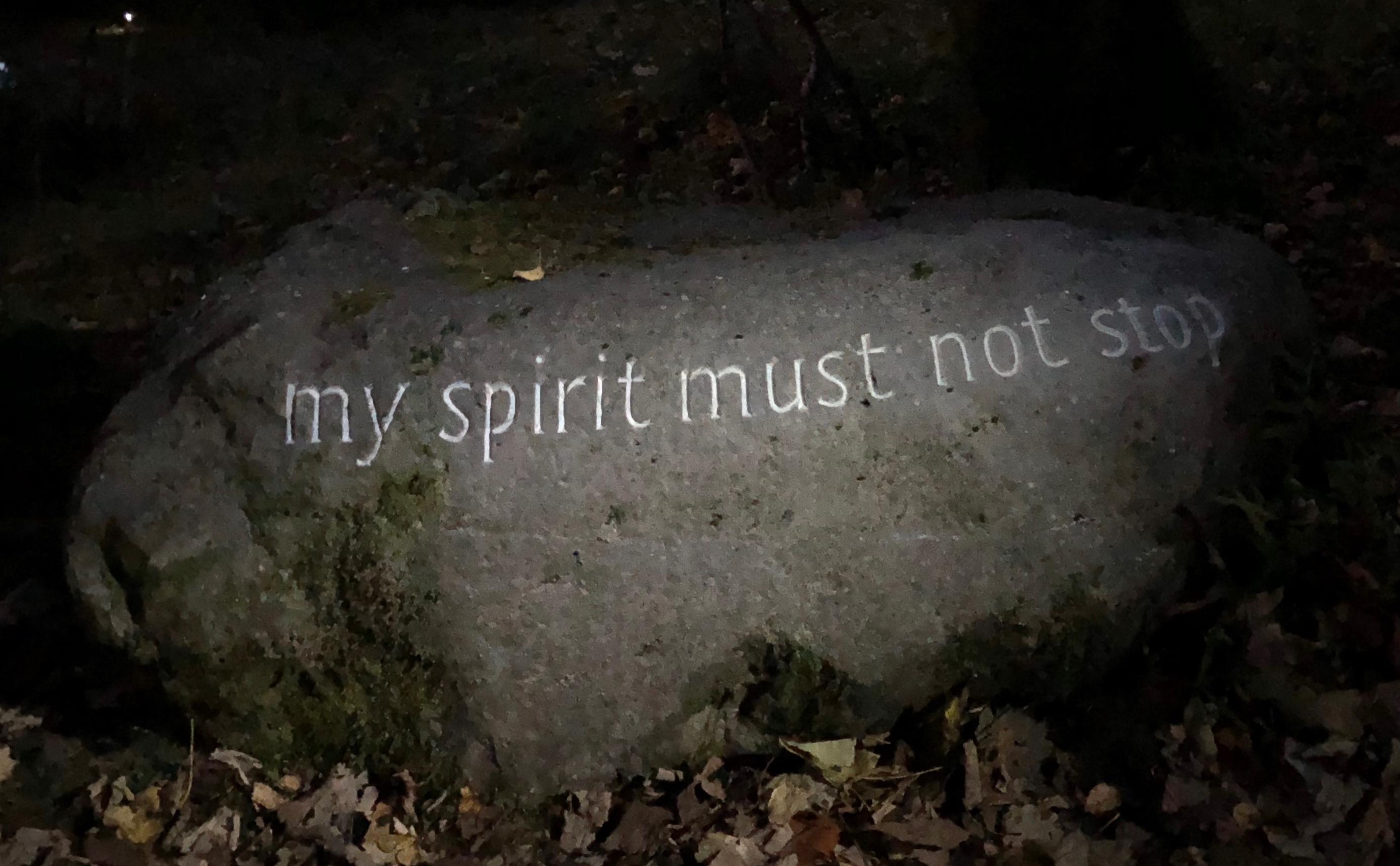 my spirit...1